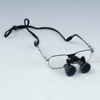 Loupes dentaires chirurgicales en verre grossissant 2.5X / 3.5X / Loup dentaire